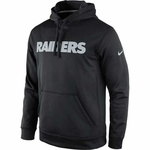Oakland Raiders Nike KO Wordmark Essential Hood