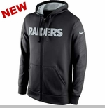 Oakland Raiders Nike KO Wrap Full Zip Hood