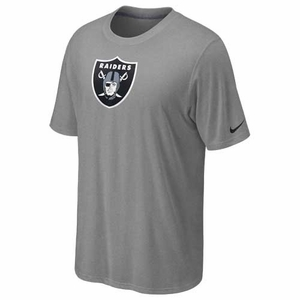 Oakland Raiders Nike Legend Authentic Grey Tee - Click to enlarge