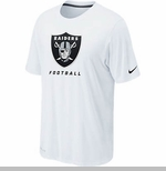 Oakland Raiders Nike Legend Elite Logo Tee White