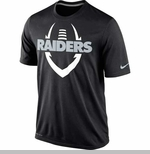 Oakland Raiders Nike Legend Icon Black Tee