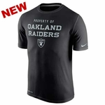 Oakland Raiders Nike Legend Property Of Black Tee