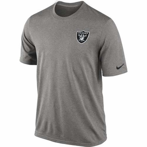 Oakland Raiders Nike Legend Short Sleeve Practice Tee - Click to enlarge