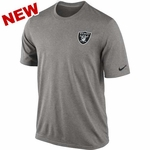 Oakland Raiders Nike Legend Short Sleeve Practice Tee