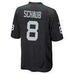 Oakland Raiders Nike Matt Schaub Black Game Jersey