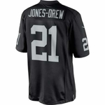 Oakland Raiders Nike Maurice Jones-Drew Black Limited Jersey