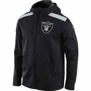 Oakland Raiders Nike Nailhead Full Zip Fleece - Click to enlarge