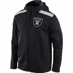 Oakland Raiders Nike Nailhead Full Zip Fleece