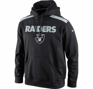 Oakland Raiders Nike Nailhead Pullover - Click to enlarge