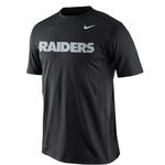 Oakland Raiders Nike NPC Hypercool Speed Short Sleeve Tee