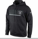 Oakland Raiders Nike Performance Hood