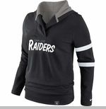 Oakland Raiders Nike Play Action Hood