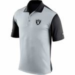 Oakland Raiders Nike Preseason Polo Black