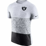 Oakland Raiders Nike Push Pass Tri Tee