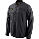 Oakland Raiders Nike Salute to Service Hybrid Jacket