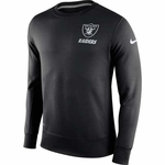 Oakland Raiders Nike Sideline KO Fleece Crew
