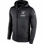 Oakland Raiders Nike Sideline KO Full Zip Fleece