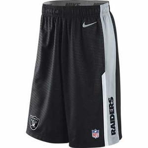 Oakland Raiders Nike Speed Fly Short Black - Click to enlarge