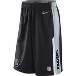 Oakland Raiders Nike Speed Fly Short Black