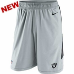 Oakland Raiders Nike Speed Grey Vent Short