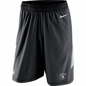 Oakland Raiders Nike Speed Vent Shorts - Click to enlarge
