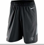 Oakland Raiders Nike Speed Vent Shorts