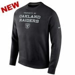 Oakland Raiders Nike Stadium Classic Crew Black