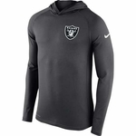 Oakland Raiders Nike Stadium Dri-Fit Touch Hood