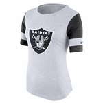 Oakland Raiders Nike Stadium Fan Top White