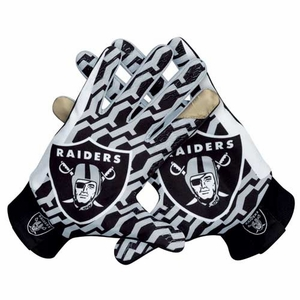 Oakland Raiders Nike Stadium Glove - Click to enlarge