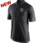 Oakland Raiders Nike Staff Polo Shirts