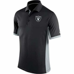 Oakland Raiders Nike Team Issue Polo Black