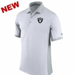 Oakland Raiders Nike Team Issue Polo White