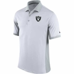 Raiders Nike Team Issue Polo White