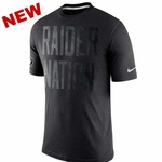 Oakland Raiders Nike Tri Local Black Tee