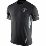 Oakland Raiders Nike Vapor Short Sleeve Top