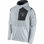 Oakland Raiders Nike Vapor Speed Fly Grey Jacket