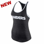 Oakland Raiders Nike Womens Core Fan Marbled Tank