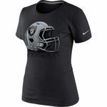 Oakland Raiders Nike Womens Helmet Tee