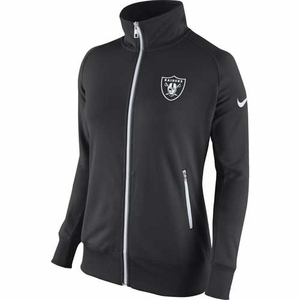 Oakland Raiders Nike Womens MVP Track Jacket - Click to enlarge