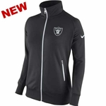 Oakland Raiders Nike Womens MVP Track Jacket