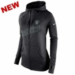 Oakland Raiders Nike Womens Stadium Game day KO Hoodie