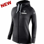 Oakland Raiders Nike Womens Warp Speed Hood