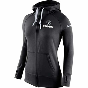 Oakland Raiders Nike Womens Warp Speed Hood - Click to enlarge