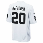 Oakland Raiders Nike Youth Darren McFadden White Game Jersey