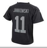 Oakland Raiders Nike Youth Sebastian Janikowski Black Game Jersey