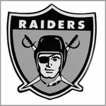 Oakland Raiders Novelty Pins & Stickers