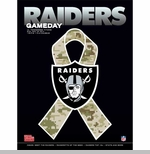 Oakland Raiders November 24th Game Day Program vs Tennesse Titans