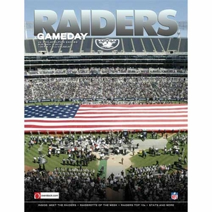 Oakland Raiders November 3rd Game Day Program vs. Philadelphia Eagles - Click to enlarge