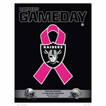 Oakland Raiders October 12th Game Day Program vs. San Diego Chargers